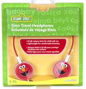 Dreamgear headphones travel elmo