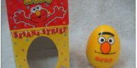 Sesame Street rubber stamps (Sanrio)