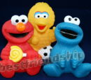 Sesame Street piggy banks (China)