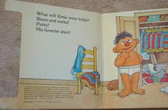Ernie gets dressed 2
