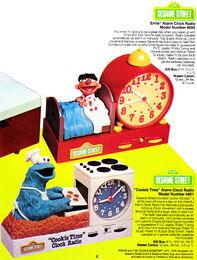 Cookie ernie alarm radio