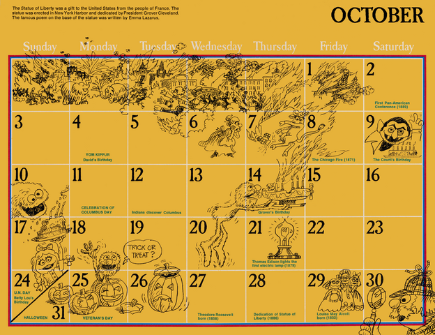 File:1976 sesame calendar 10 october 2.png