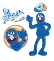 Scrapbook-Sticker-Grover