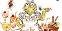 Great-grandmother Toad