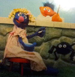 Grover in drag