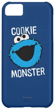 Zazzle cookie monster pattern face