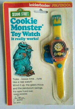 Knickerbocker 1978 cookie monster watch