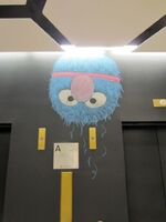 Louis henry mitchell sesame office chalk art 3