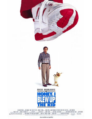 Honey I blew up the kid film poster