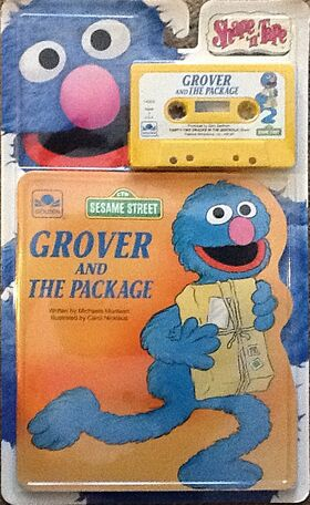Grover and the package shape and tape