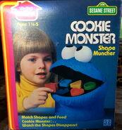 Cookie monster shape muncher 2