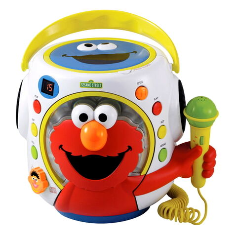 File:Kids station toys inc KST 2011 portable cd boombox with microphone.jpg