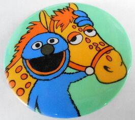 Sesame button grover