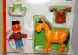 Ernie cowboy playset