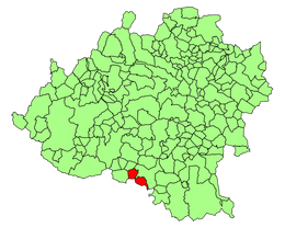 Alpanseque (Soria) Mapa