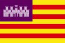 Bandera d'Islas Baleares