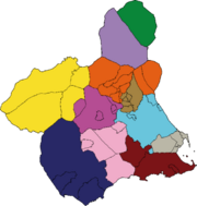 Partíos judiciales e Murcia