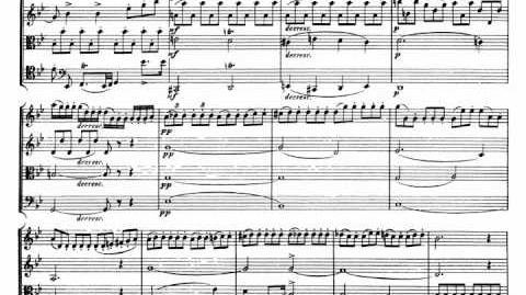 Schubert Death and the Maiden Quartett for Strings