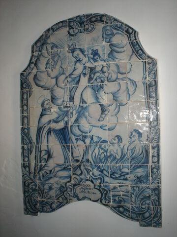 Ficheiro:Painel de Azulejos Séc. XVIII - Fabrico d' Estremoz