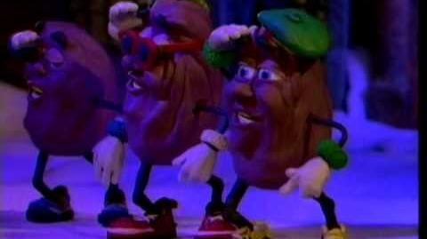 "California Raisins - ""Rudolph The Red Nosed Reindeer"""