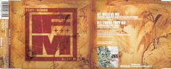 Fort Minor - Believe Me Pt 1 Cover Front and Inside