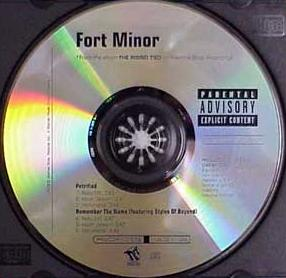 File:Fort Minor - Petrified-Remember The Name (Promo CD).JPG