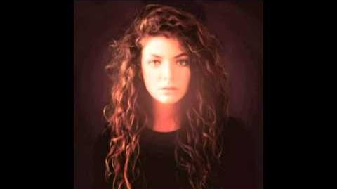 Lorde - 400 Lux (NEW SONG 2013)