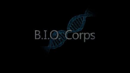 BIO Corps Title Treatment