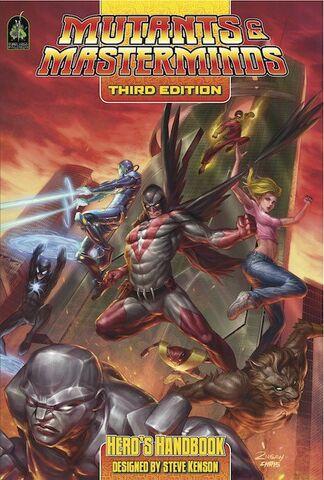 File:Mutants & Masterminds Hero's Handbook cover.jpeg