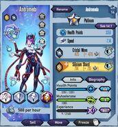Andromeda Platinum