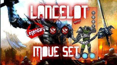 MGG - Lancelot (Move Set)