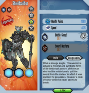Shieldcalibur stats