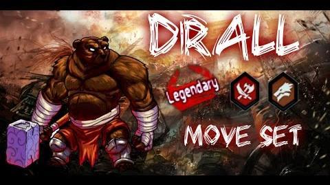 MGG - Drall (Move Set)