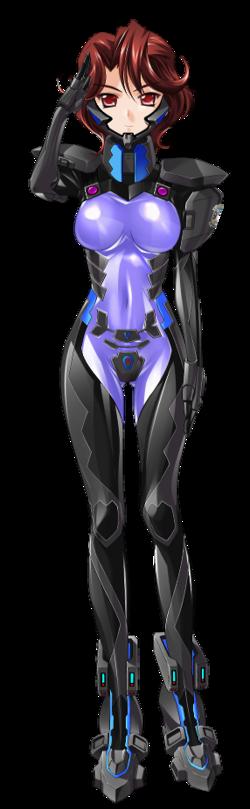 Michiru Alternative Fortified Suit Salute
