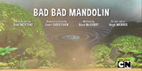Bad Bad Mandolin