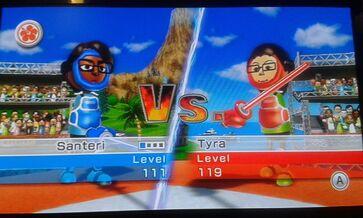 Santeri VS Tyra duel