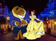 Belle and Beast goes to Walt Disney World Pictures 06