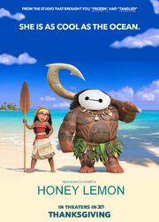 Honey Lemon (Moana) Poster