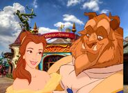 Belle and Beast Goes to Disneyland Paris Pictures 04