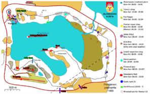 Peräjärvi map with locations