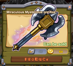 Miraculous Mysterious Ore Axe