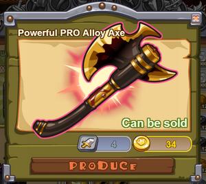 Powerful PRO Alloy Axe