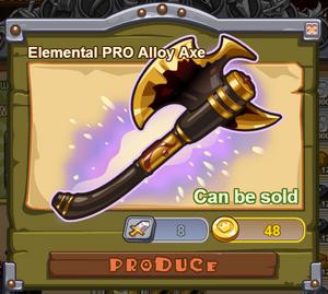 Elemental PRO Alloy Axe