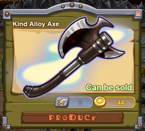 Kind Alloy Axe