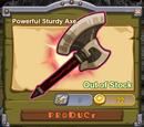 Powerful Sturdy Axe
