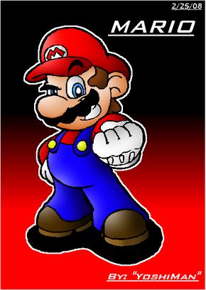 Mario by YoshiMan1118