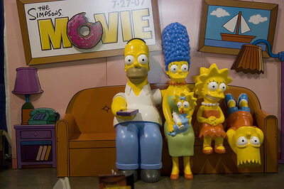 Simpsons Life-Size Diorama