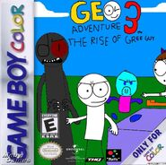 Geo Adventure 3 Game Boy Color cover NTSC