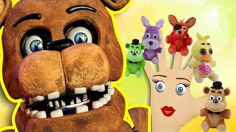 Finger Family Five Nights at Freddy's - Nursery Rhyme SONG FOR KIDS
