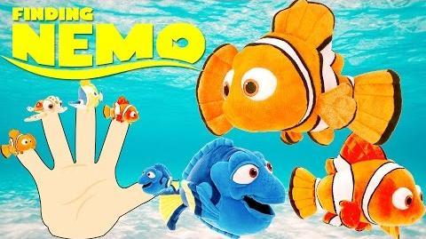 The Finger Family Nemo 3D Animation Finding Nemo Finger Family Nursery Rhymes